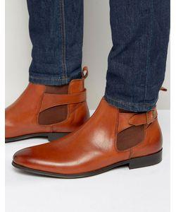 Kg Kurt Geiger | Светло-Коричневые Кожаные Ботинки Челси С Пряжками Kg By Kurt Geiger