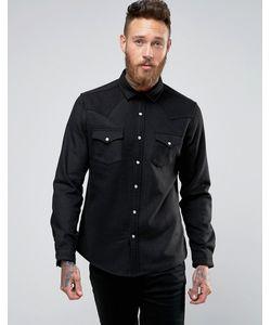 Asos | Шерстяная Рубашка В Стиле Вестерн