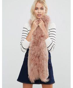 URBANCODE | Faux Fur Mix Skinny Scarf