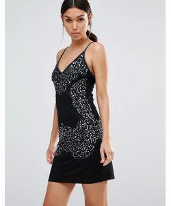 boohoo | Embellished Mini Cami Dress