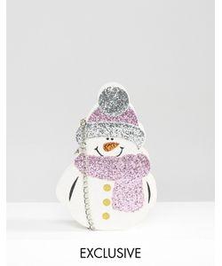 VALERY | Сумочка Через Плечо В Форме Блестящего Снеговика Эксклюзивно Для