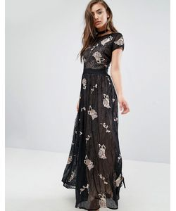 Miss Selfridge | Платье Макси С Кружевом