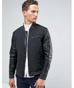 Jack & Jones | Шерстяная Куртка-Пилот Premium