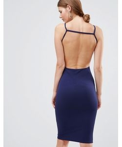 Oh My Love | Платье Миди С Открытой Спиной