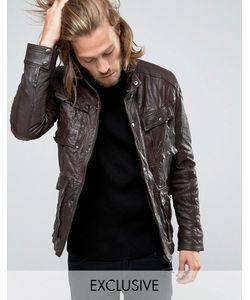 Black Phoenix | Leather Jacket 4 Pockets Distressed In