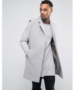 BLACK KAVIAR | Шерстяное Пальто Без Рукавов