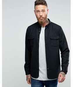 Hoxton Shirt Company | Полушерстяная Рубашка Слим