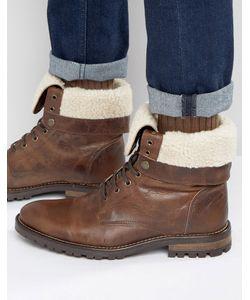 WALK London | Ботинки На Меховой Подкладке И Со Шнуровкой Baker