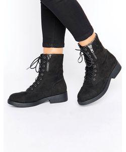 boohoo | Ботинки На Шнуровке