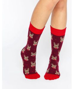 Totes | Носки С Оленем Christmas