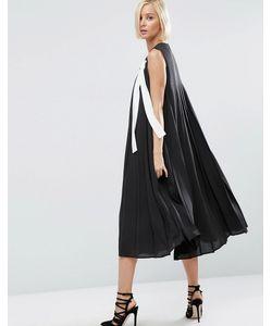 ASOS WHITE | Платье Миди В Складку