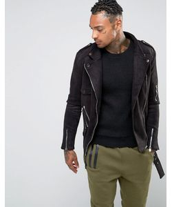 Sixth June   Suedette Biker Jacket