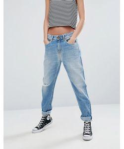 Pepe Jeans | Джинсы В Винтажном Стиле С Рваными Коленями Freya