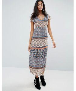 Raga | Платье С Принтом