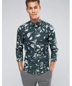 Selected Homme | Узкая Рубашка С Принтом