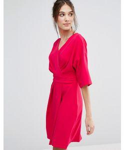 Closet London | Платье С Запахом И Рукавами-Кимоно Closet