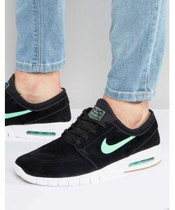 Nike SB | Черные Кроссовки Stefan Janoski Max L 685299-039