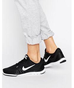 Nike | Черные Кроссовки С Белой Отделкой Flex 6