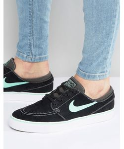 Nike SB | Черные Кроссовки Zoom Stefan Janoski 333824-052