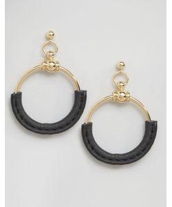 Cara Jewellery | Серьги-Кольца С Отделкой Cara Ny