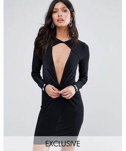 MISSGUIDED | Облегающее Платье Мини С Отделкой Эксклюзивно Для