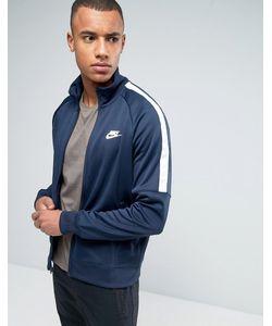 Nike | Синяя Спортивная Куртка Tribute 678626-452