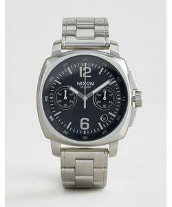 Nixon   Часы Из Нержавеющей Стали С Хронографом Charger