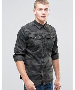 G-Star | Рубашка С Длинными Рукавами И Камуфляжным Принтом 3301