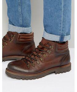 Shoe the Bear | Кожаные Ботинки Со Шнуровкой Russ