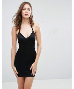 Smooothees   Моделирующее Платье-Комбинация С Лямкой Через Шею