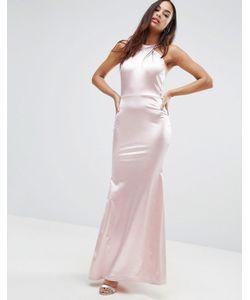 Club L | Платье Макси С Халтером