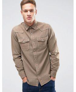 Jack & Jones | Рубашка Классического Кроя На Кнопках Vintage