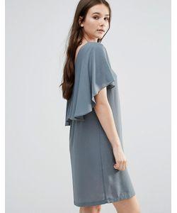 Y.A.S.   Платье С Оборкой Y.A.S Naomi