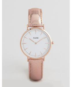 Cluse | Часы С Кожаным Ремешком Цвета Металлик La Boheme Cl18030