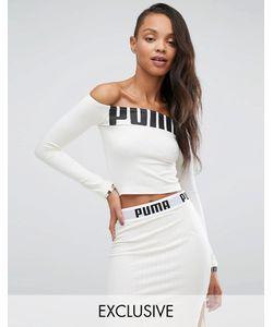 Puma | Топ С Открытыми Плечами И Логотипом Эксклюзивно Для Asos