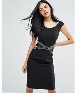Little Mistress | Облегающее Платье С Вырезами На Талии
