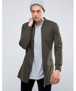 Brave Soul   Длинная Трикотажная Куртка