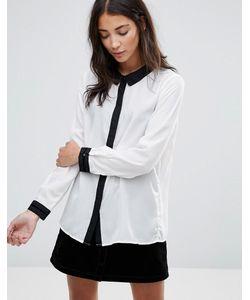 Brave Soul | Рубашка С Контрастной Отделкой