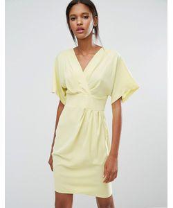 Closet London   Платье-Кимоно С Запахом Closet