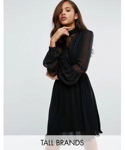 Vero Moda Tall | Короткое Приталенное Платье С Кружевом
