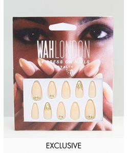 WAH | Накладные Ногти London Asos Royal Nude