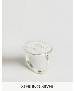 Katie Mullally | Sterling Farthing English Coin Ring