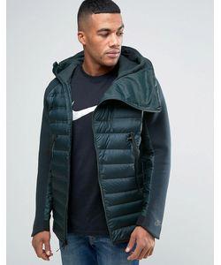 Nike | Зеленая Куртка С Капюшоном Aeroloft 806838-364