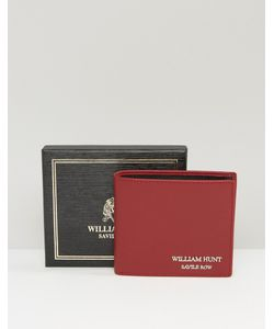 William hunt | Кожаный Бумажник С Черной Подкладкой