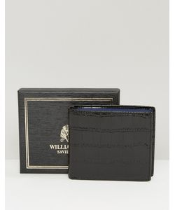 William hunt | Кожаный Бумажник С Контрастной Подкладкой