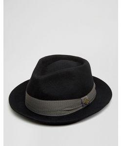 Goorin | Черная Фетровая Шляпа Griffin