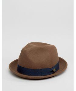 Goorin | Мягкая Фетровая Шляпа Верблюжьего Цвета Rabbit