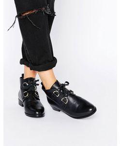 Asos | Кожаные Ботинки Со Шнуровкой Andrea