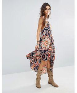 Raga | Платье С Принтом И Асимметричным Подолом