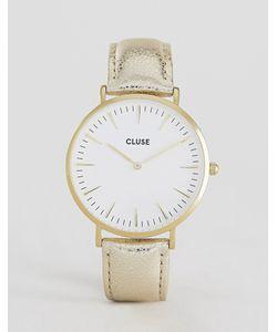 Cluse | Часы С Кожаным Ремешком Цвета Металлик La Boheme Cl18421